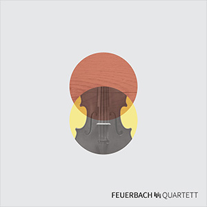 CD Cover – Feuerbach Quartett
