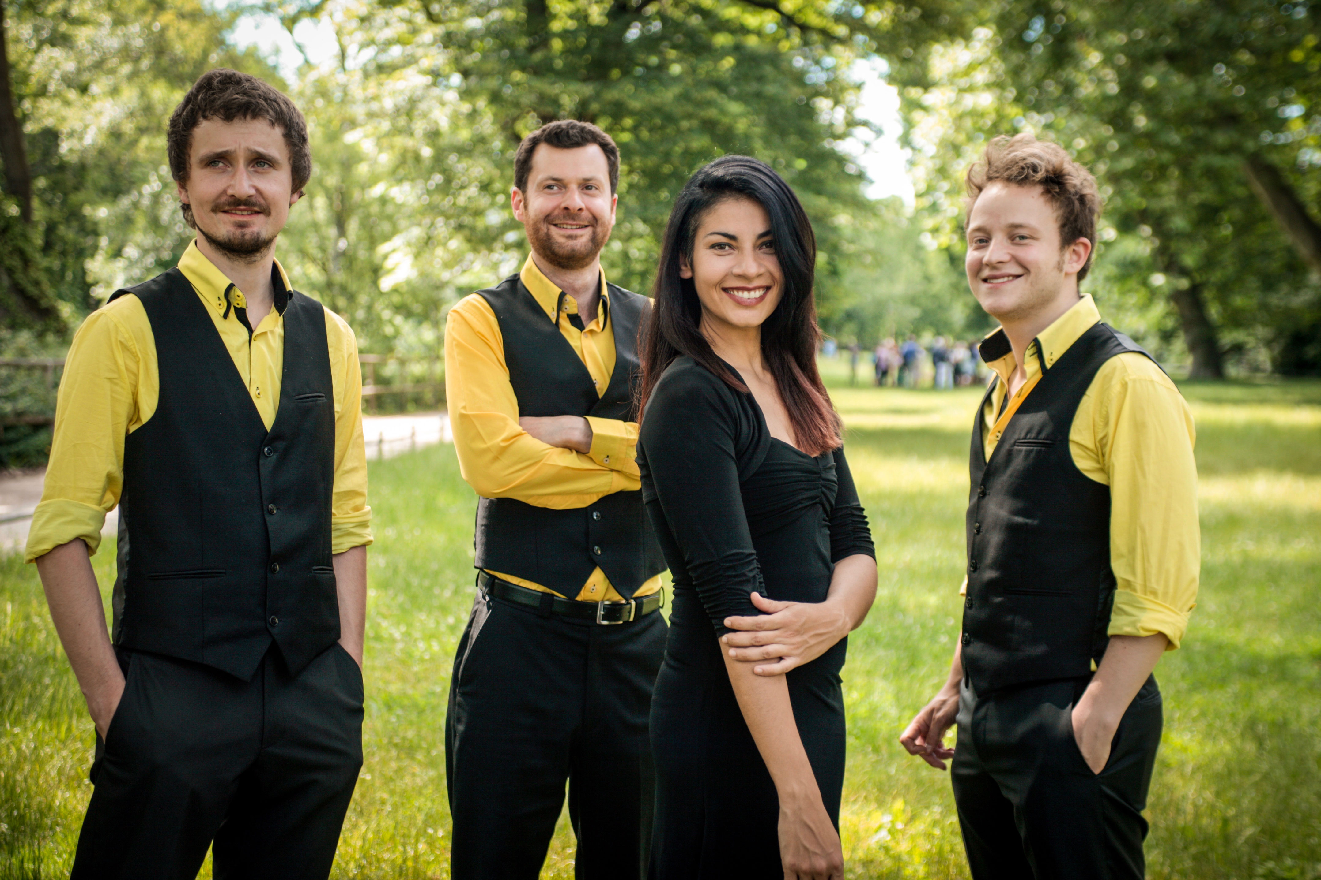 Feuerbach Quartett - Gruppenfoto
