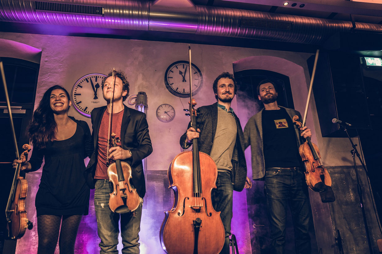 Feuerbach Quartett - Auftrittsgruppenfoto
